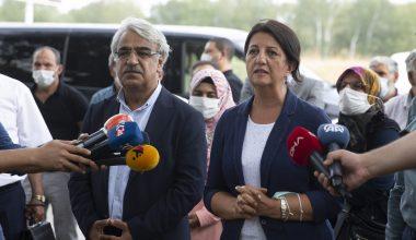 HDP Eş Genel başkanları, Demirtaş ve Zeydan ile görüştü