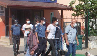 Kandıra'da devriye görevi yapan polis ekibine saldıran 4 şüpheli yakalandı
