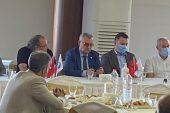 Başkan Helvacıoğlu, Keşan'daki inşaat firmaları ve müteahhitlerle bir araya geldi