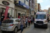 Keşan'da inşaattan düşen işçi yaralandı