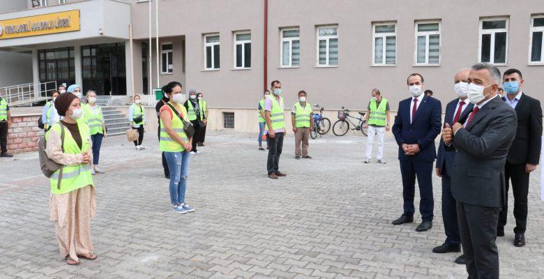 """Kırklareli Valisi Bilgin: """"Nisana göre daha fazla Kovid-19 hastası var"""""""