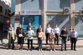 Kırklareli'nde Kovid-19 tedbirlerine uyan işletmelere belge veriliyor