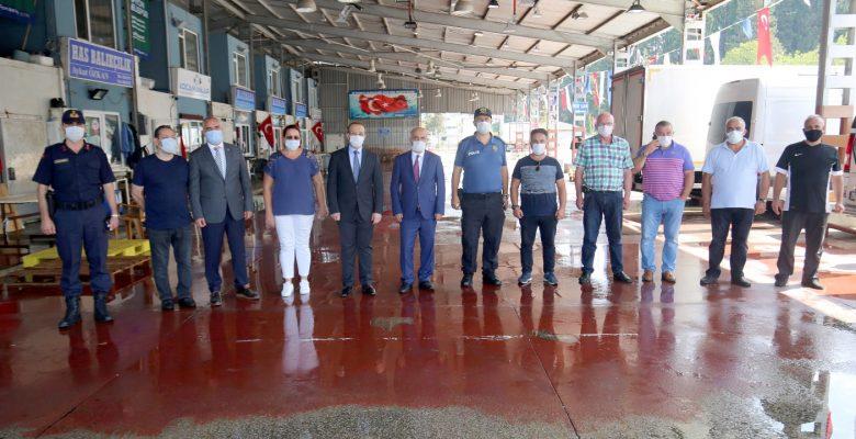 Kocaeli Valisi Yavuz, Karamürsel ilçesini ziyaret etti