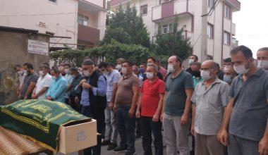 Kocaeli'de döküm fabrikasında hayatını kaybeden işçi, toprağa verildi