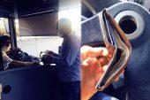 Otobüs şoförü içinde 6 bin lira olan cüzdanı sahibine teslim etti