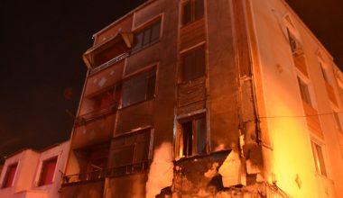 Lüleburgaz'da depoda çıkan yangın söndürüldü