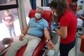 Malkara'da kan bağışı kampanyası düzenlendi