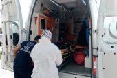 Malkara'da yüksekten düşen işçi yaralandı