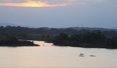 Meriç Nehri'nde kano keyfi