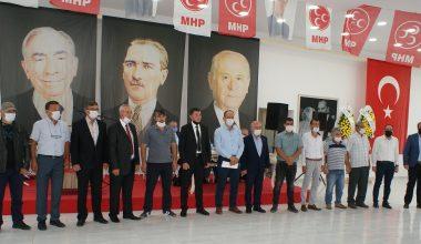 MHP Manyas İlçe Başkanlığı 13. Olağan Kongresi yapıldı