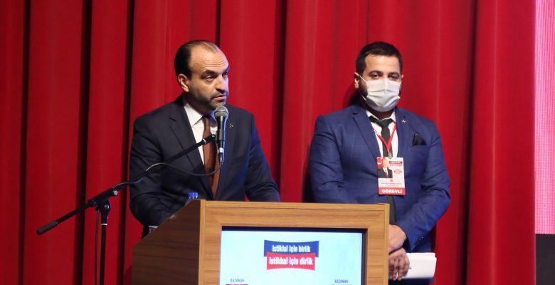 MHP'li Büyükataman, Bursa'da partisinin il kongresinde konuştu