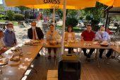 Milletvekili Aksal ve AK Parti İl Başkanı İba ilçelerde ziyaretlerde bulundu