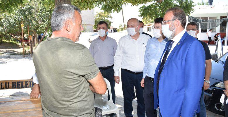 Milletvekili Yel, Hayrabolu'da ziyaretlerde bulundu
