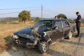 Otomobil ile pikap çarpıştı… 1 yaralı