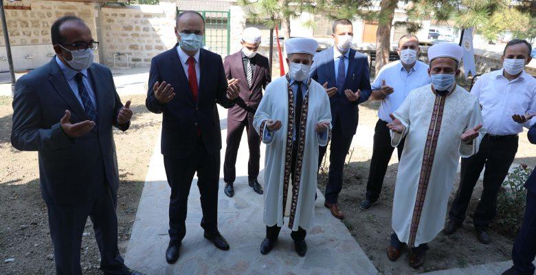 Restorasyonu tamamlanan cami dualarla açıldı