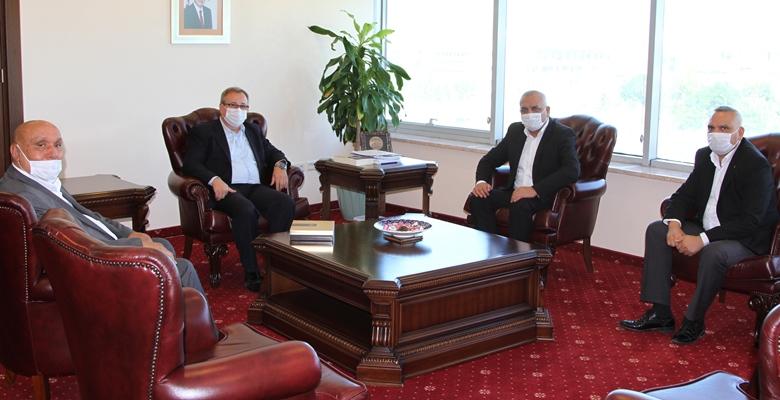 Roman Derneklerinden Tabakoğlu'na ziyaret