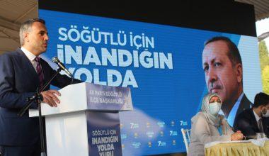 Sakarya'da AK Parti'nin Söğütlü kongresi yapıldı