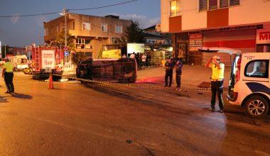 Sancaktepe'de trafik kazası: 1 ölü