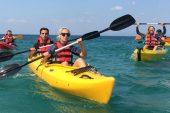 Saros Körfezi'nde kano keyfi