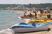Saros'ta turizm hareketliliği