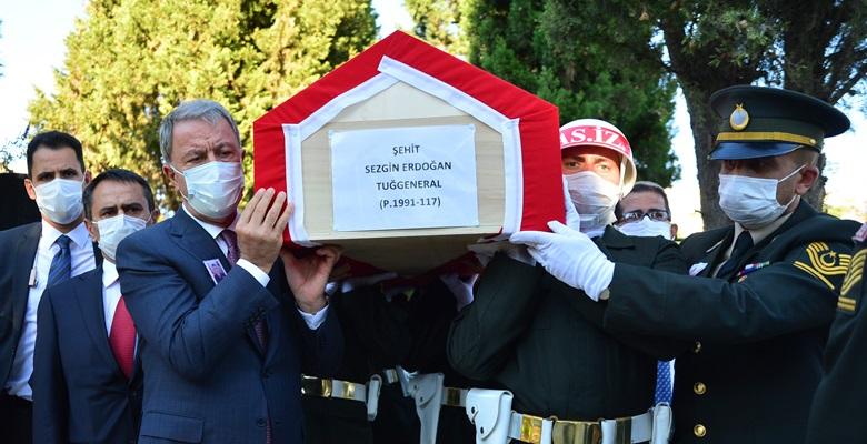 Şehit Tuğgeneral Erdoğan son yolculuğuna uğurlandı