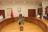Sultanbeyli'de koronavirüs ile mücadele çalışmaları değerlendirildi