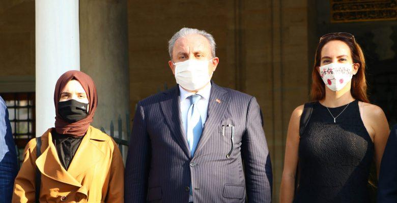 TBMM Başkanı Şentop ile PAB Başkanı Barron Tekirdağ'ı ziyaret etti