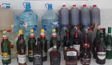 Keşan'da sahte içki operasyonu!