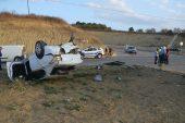 Malkara'da cip ile otomobil çarpıştı: 3 yaralı