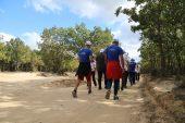 Tekirdağ'da doğa yürüyüşü düzenlendi