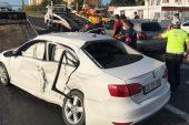 Muratlı'da Kaza! 2 kişi yaralandı