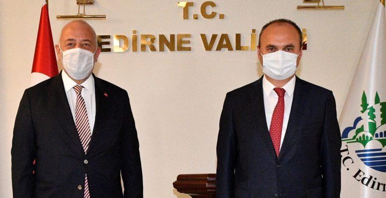 Ticaret Bakan Yardımcısı Turagay, Edirne'de incelemelerde bulundu