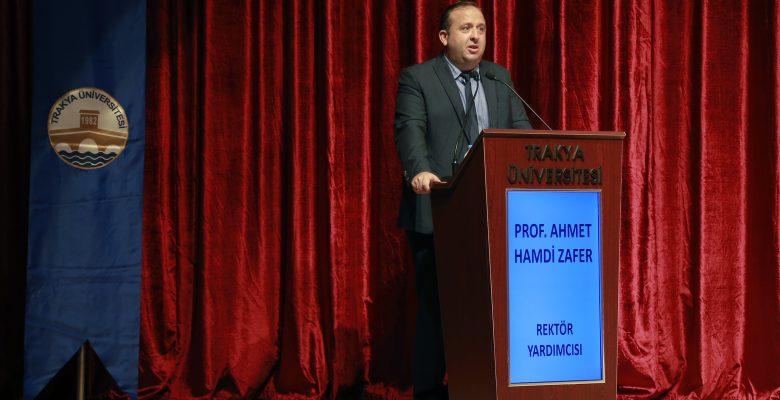 Trakya Üniversitesinde göreve başlayan personele oryantasyon eğitimi