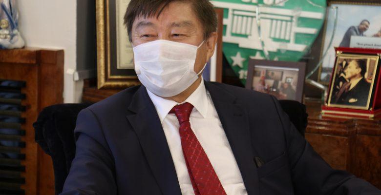 TÜRKSOY Genel Sekreteri Kaseinov, Kırklareli'nde…