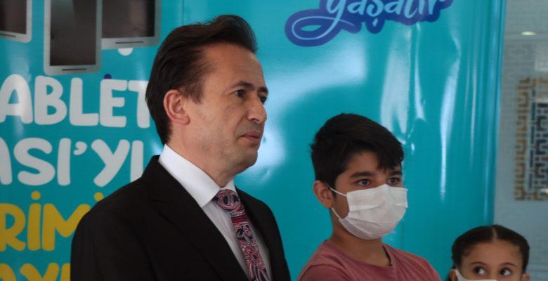 Tuzla'da ''Askıda Tablet'' kampanyası