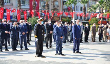 Çanakkale'de 29 Ekim Töreni