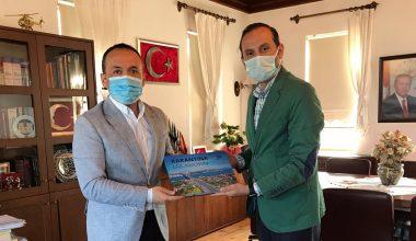 AA Bursa Bölge Müdürü Aksoy, Mudanya Kaymakamı Sözer'i ziyaret etti