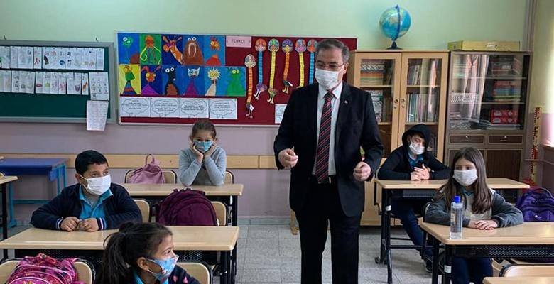 Milli Eğitim Müdürü Arpacı, köy okullarında…