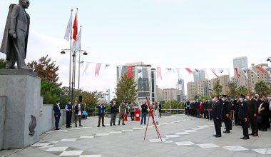 Ataşehir'de 29 Ekim Cumhuriyet Bayramı kutlanıyor