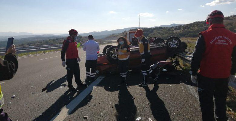 Bayan sürücü yaşamını yitirdi