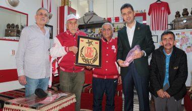 Balıkesirspor Başkanı Arslan'dan ahde vefa ziyaretleri