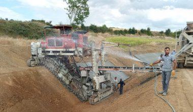 Çakmak Barajı'nda çalışmalar tam gaz…