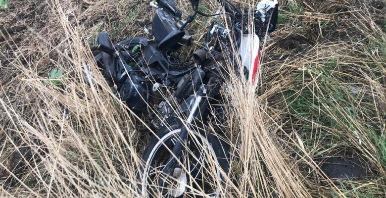 Otomobilin çarptığı motosikletin sürücüsü yaşamını yitirdi