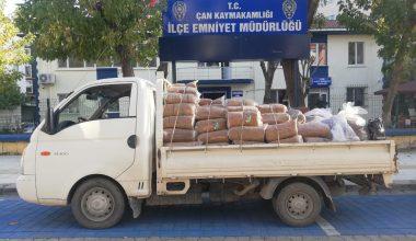 Çan'da kaçak sigara operasyonu