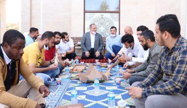 Din görevlileri salgın sürecinde yabancı öğrencilere kucak açtı