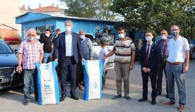 Edirne'de üreticilere % 50 hibeli tohum dağıtıldı