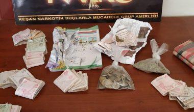 Keşan'da uyuşturucu operasyonunda 2 şüpheli gözaltına alındı