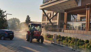 Edirne'de dezenfekte çalışmaları…