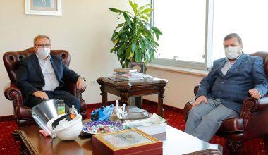 Rektör Tabakoğlu'na ziyaretler
