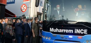 Eski CHP Milletvekili Muharrem İnce, esnafı dinledi…